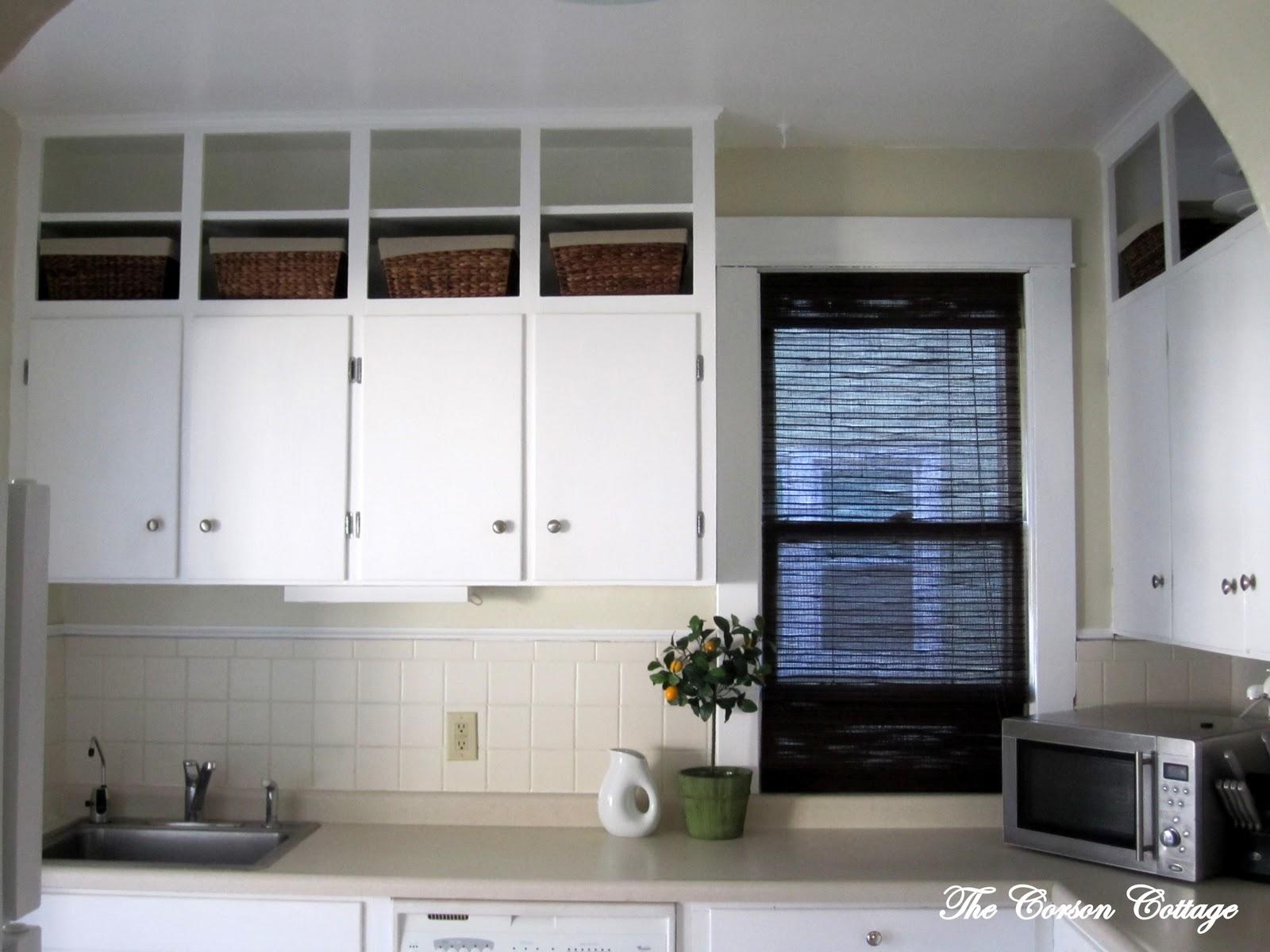 the corson cottage: A Tiny Cottage Kitchen
