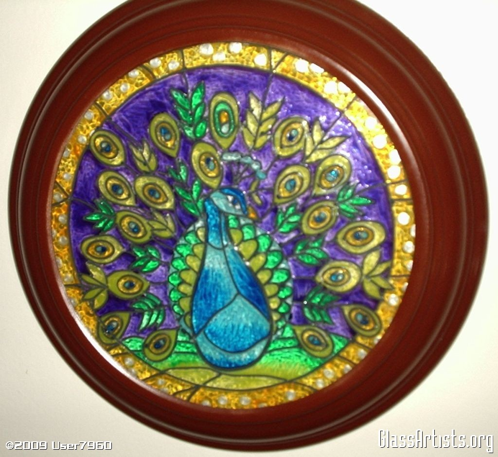 Imagination painting glass painting for Mural glass painting