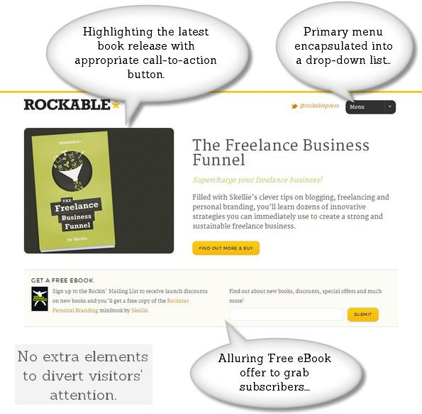 Rockable Press Home page