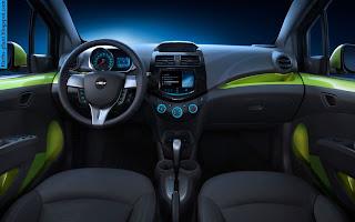 chevrolet spark car 2013 interior - صور سيارة شيفروليه سبارك 2013 من الداخل