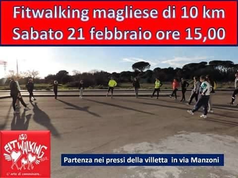 Fitwalking magliese