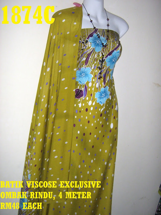BV 1874C: BATIK VISCOSE EXCLUSIVE OMBAK RINDU, 4 METER