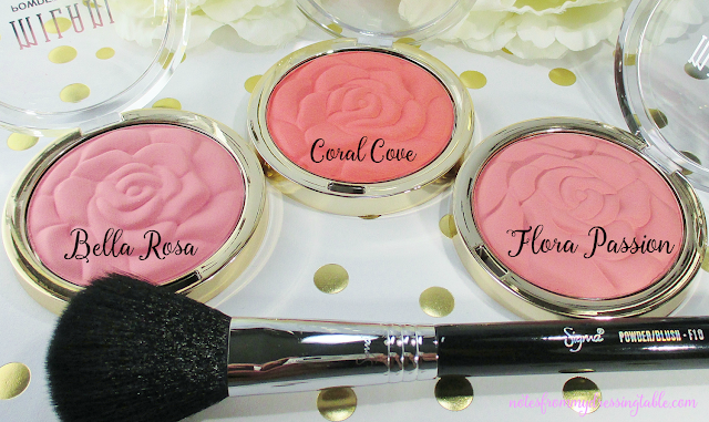 milani rose blushes detail notesfrommydressingtable.com