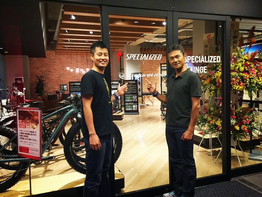 [PHOTO]竹谷賢二さんと松田航介さんが運営するスペシャライズド・ラウンジ