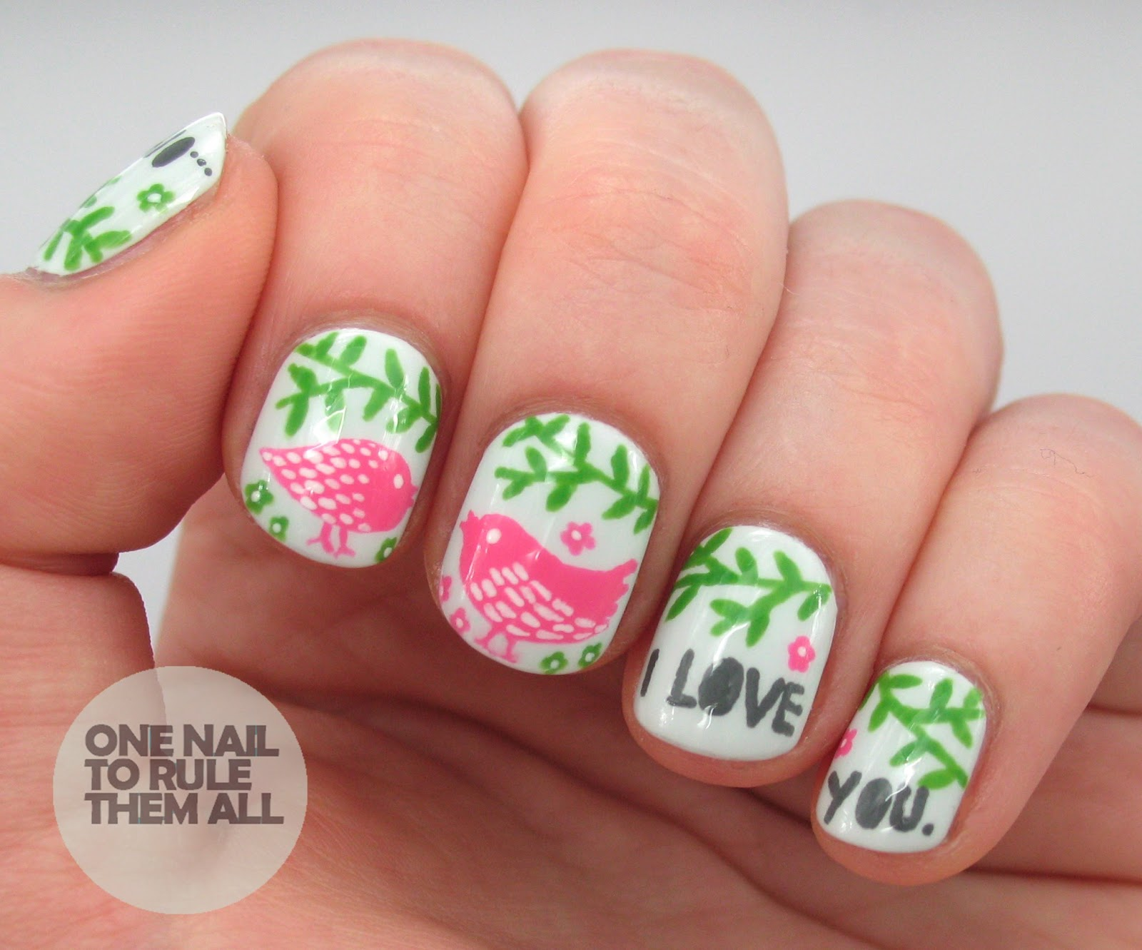 One Nail To Rule Them All: Oh how I love you... Rob Ryan valentines ...