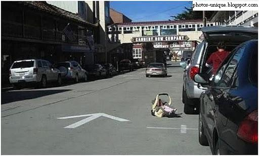 stupid+funny+baby+fail+road
