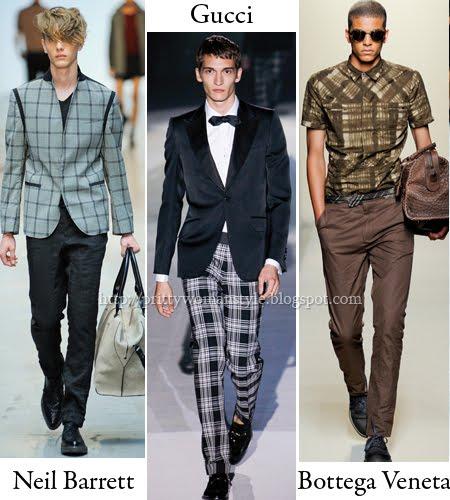 мъжки карирани сака, панталони и спортни ризи