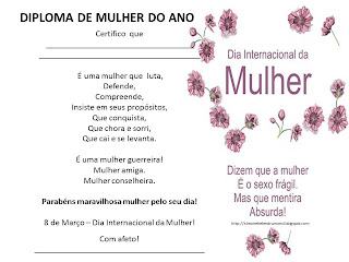 Dia da Mulher, 8 de março