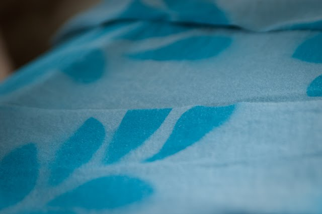 Printed half my fabric pieces.
