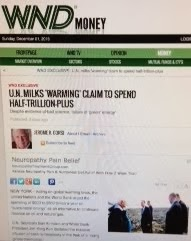 WND EXCLUSIVE U.N. milks 'warming' claim to spend half-trillion-plus Despite evidence of bad scienc