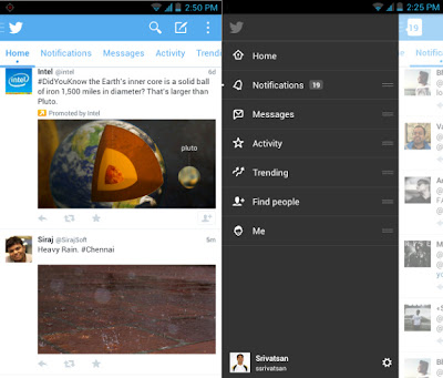 Twitter Testing New Android Application Interface Through Beta