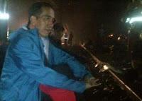 Kelihatan Hilang keceriaan Gubernur Jokowi
