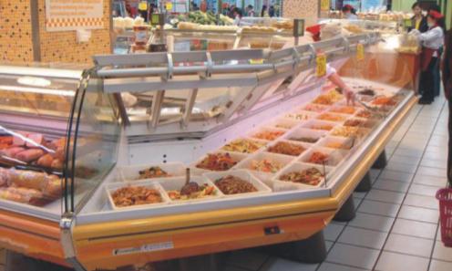 Plafoniere Per Negozi Alimentari : Illuminazione led: food lighting: il led per lilluminazione degli