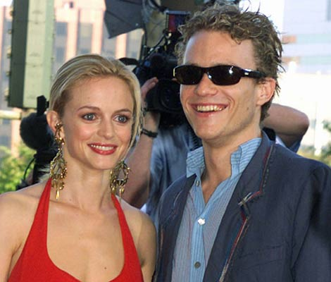 heath ledger dating Initially, matt amato was not at all sure his friend heath ledger would  clips from  ledger's home videos, dating from his teen years in perth,.