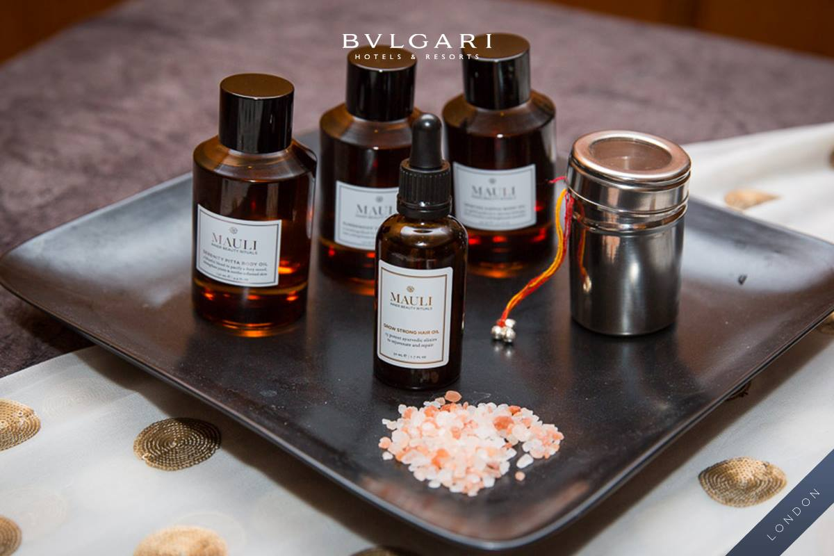 Mauli Rituals dosha oils - Spirited, Serenity & Surrender / Bulgari Spa Ayurvedic treatments / via www.fashionedbylove.co.uk
