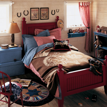 Poppy lauren vintage soldiers cars and cowboys for Cowgirl bedroom ideas for kids