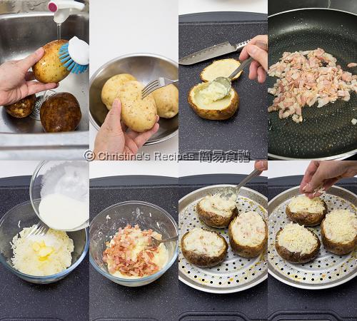 How To Make Twice-Baked Potatoes