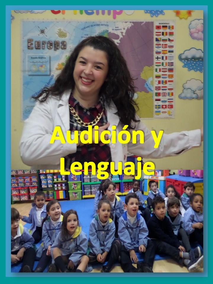 Rocío profesora de Audición y Lenguaje