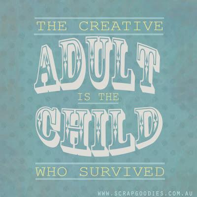Creative Adult | www.SpicyPinkInspirations.com