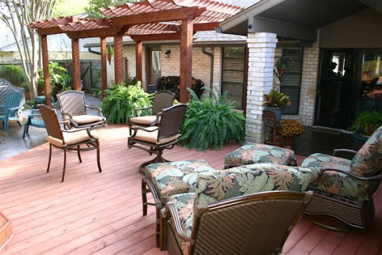 Wood Patio Deck Ideas Style