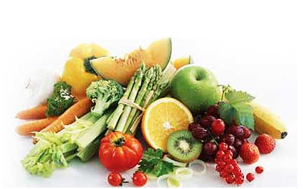 vegetables and fruit for health