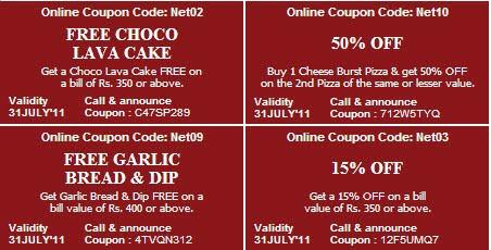 Free ka maal dominos coupons