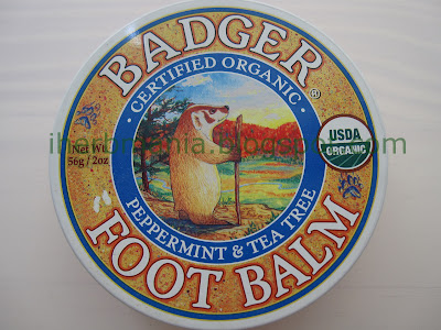 Iherbmania Badger Foot Balm Iherb