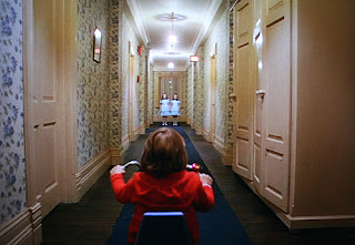twins, scary twins, big wheel, danny torrance, doctor sleep, hallway, horror movie
