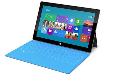 Microsoft presenta su Tablet : Microsoft Surface