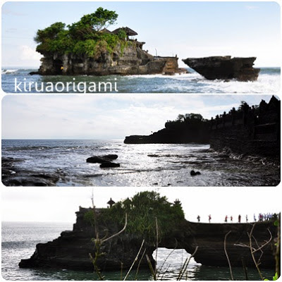 Panorama Indah di Tanah Lot