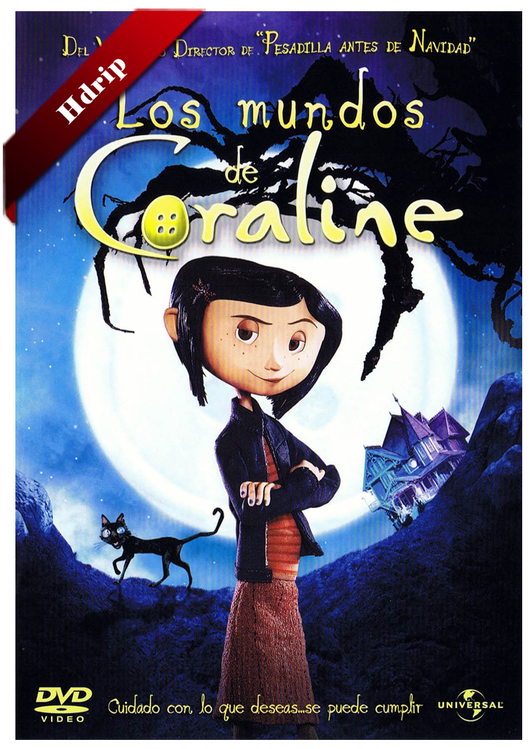 Los Mundos De Coraline Hdrip Castellano 2009