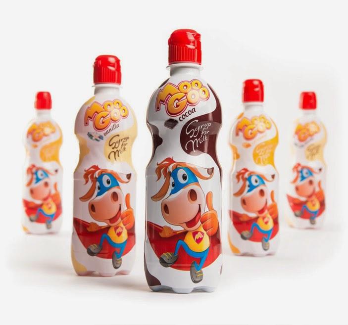 Moo Goo Syrups - Backbone branding