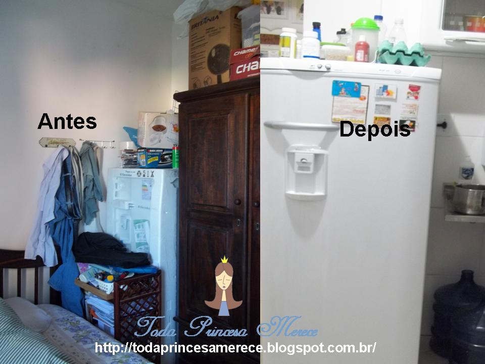 antes e depois na decoração do quarto
