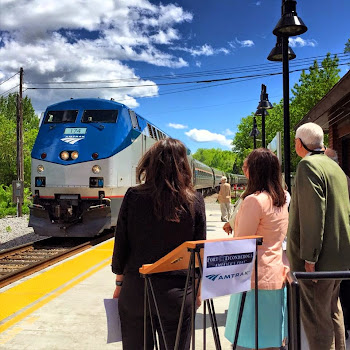 Rep. Elise Stefanik Celebrates Amtrak Service to Fort Ticonderoga
