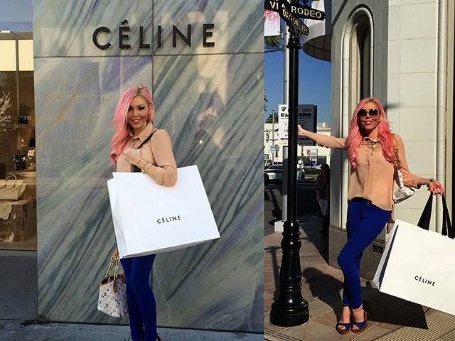 celine black luggage tote price - The Haute Blonde- Fashion & Beauty Blog: Celine Mini Luggage Tote ...