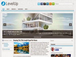LevelUp - Free Wordpress Theme