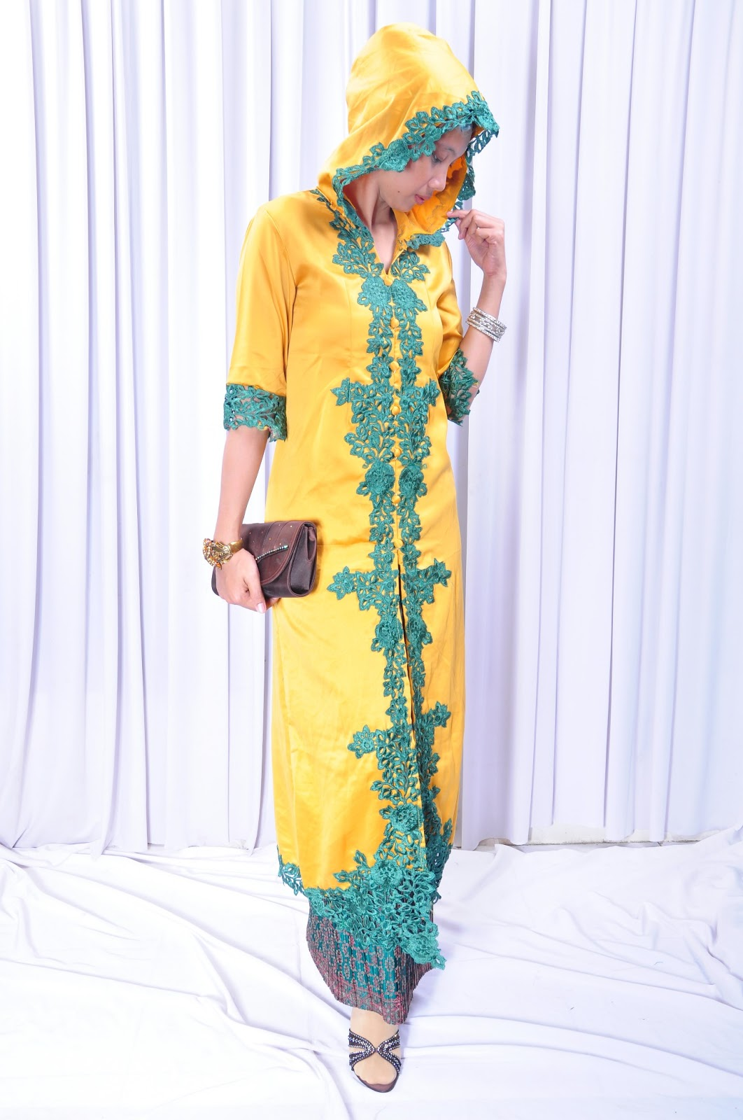 Gamis Trendy 2013 Sena Fashion Abaya Gamis Bertopi Trendy