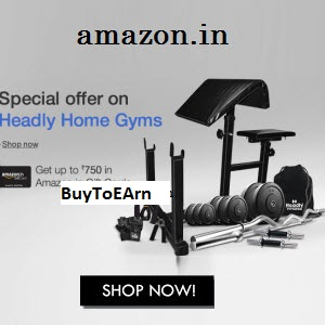 Flipkart : Buy Headly Home Gyms with upto 50% discount