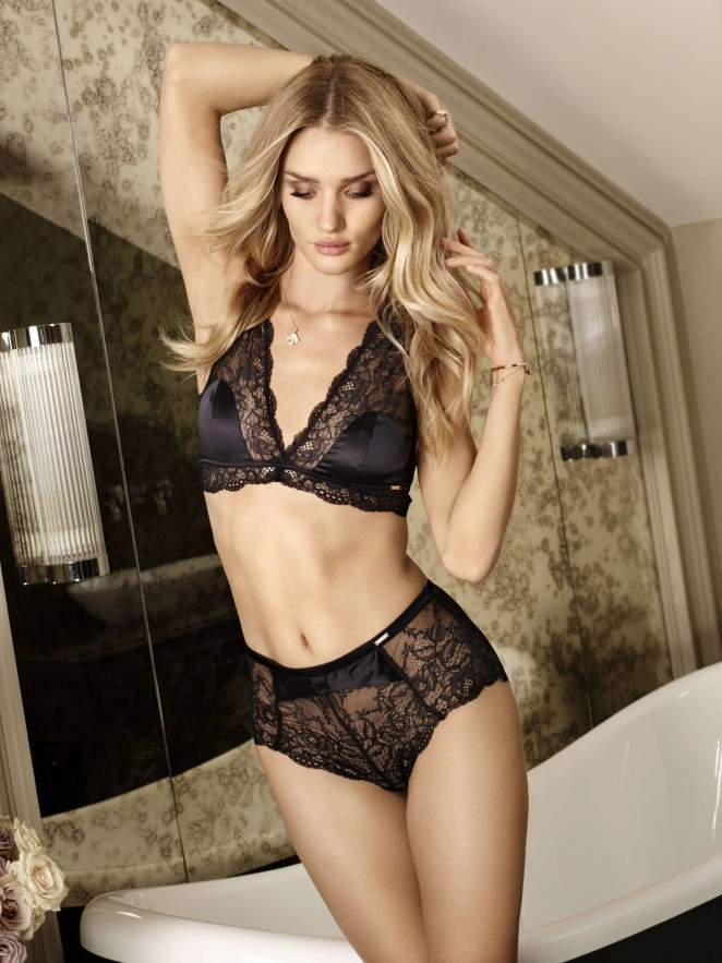 Autograph Lingerie Spring/Summer Latest Collection featuring Rosie Huntington-Whiteley