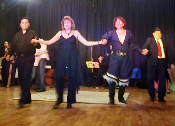 Noche de Tango en la Casa de Cultura del Parque Naucalli