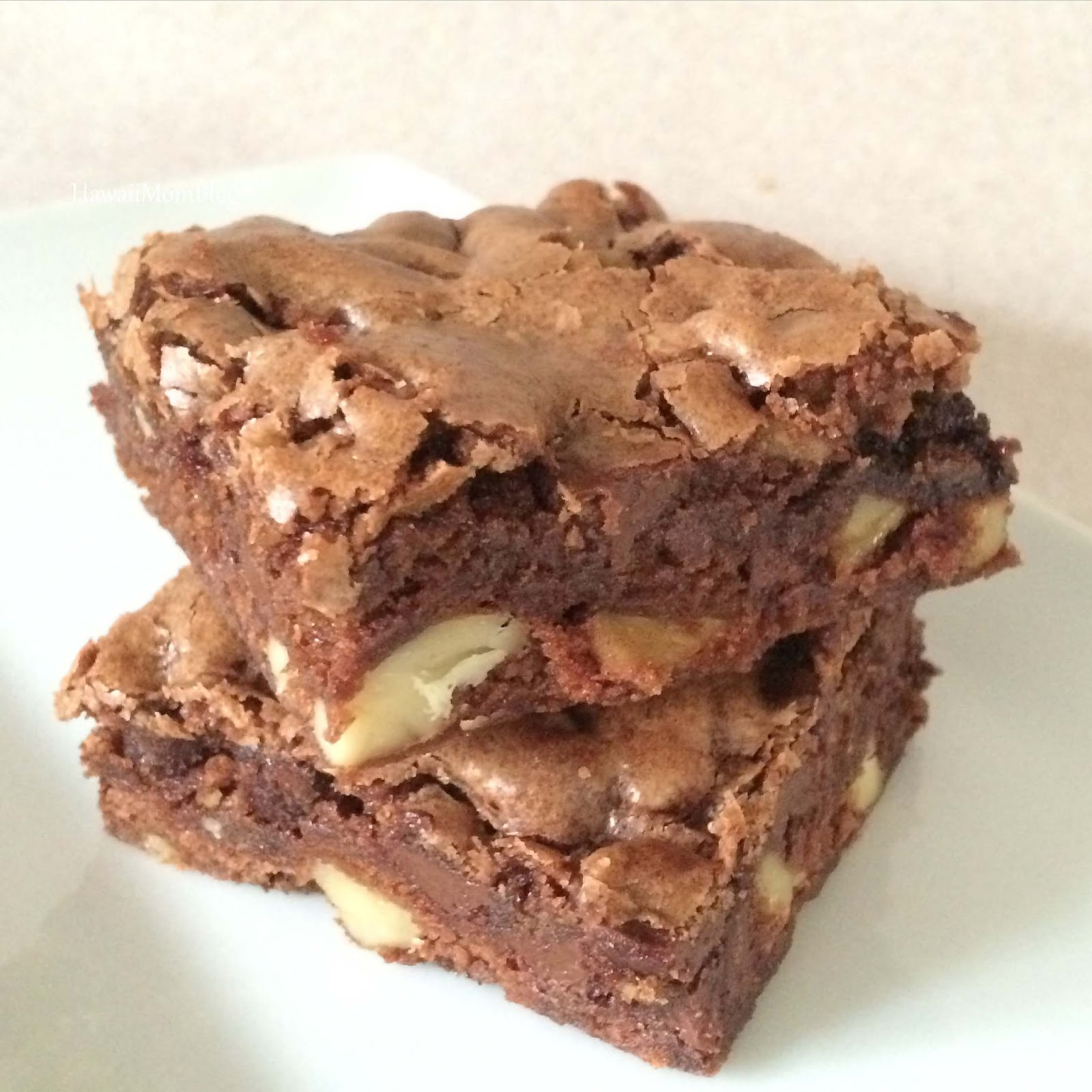 Hawaii Mom Blog: Easy One-Bowl Double Chocolate Chip Brownies Recipe