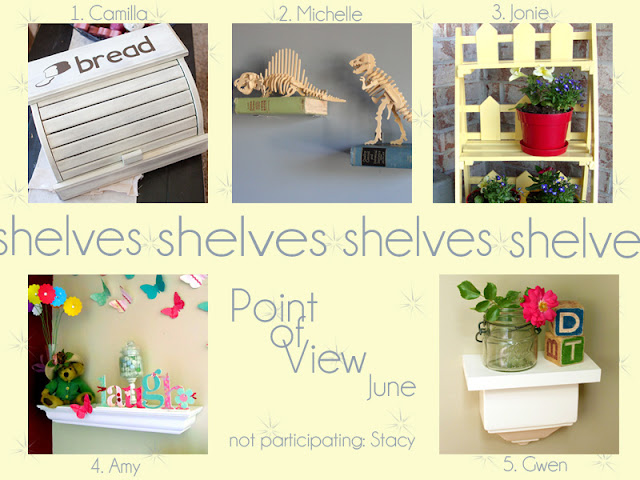 POV {Shelves} and Linky Party