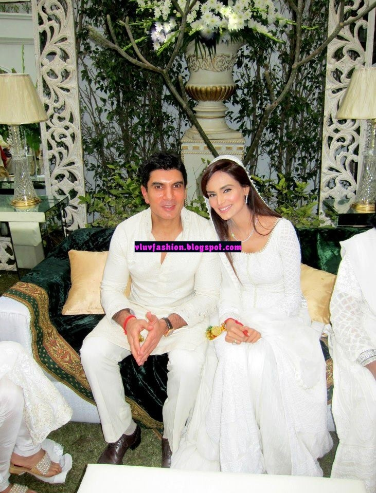 Model Mehreen Syed Wedding Pics