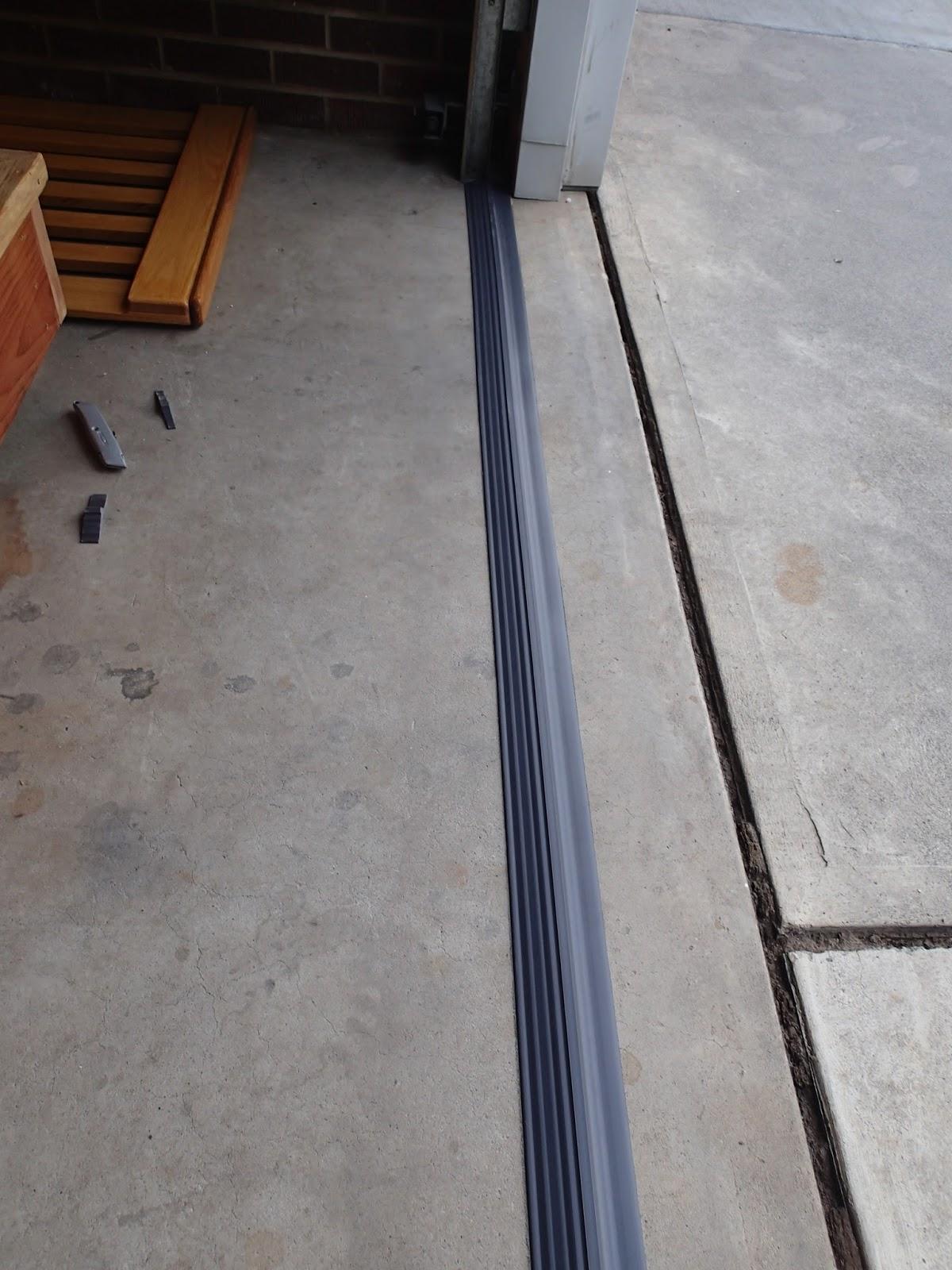 Installing A Garage Threshold