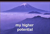 Intention #9 - Start Opening to My Higher Potential - picture of mountain peak