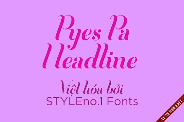 [Script] Pyes Pa Headline Việt hóa