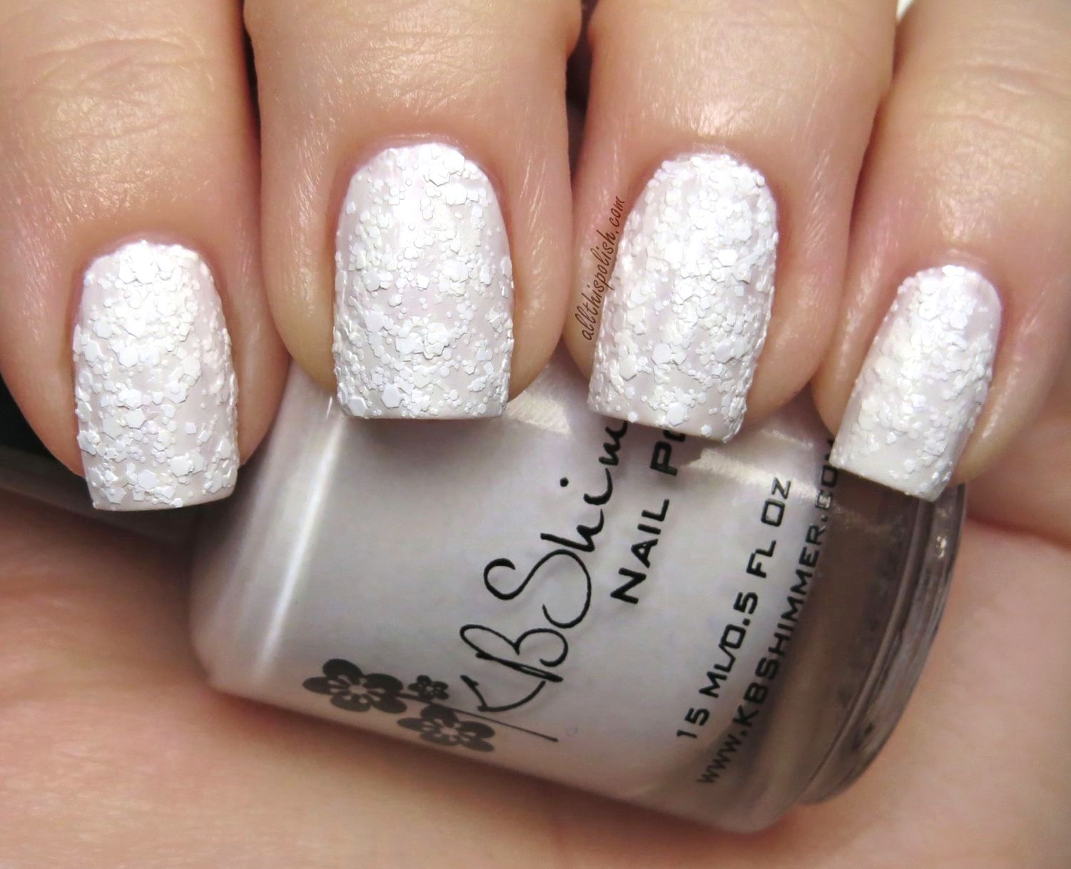 KBShimmer White Here, White Now