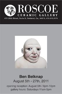 Ben Belknap Ceramic Art Roscoe Gallery