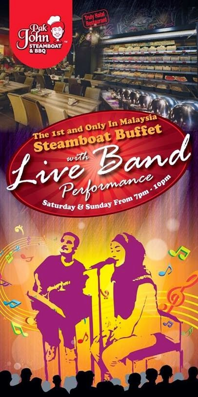 Live Band Acoustic at PAK JOHN STEAMBOAT & BBQ