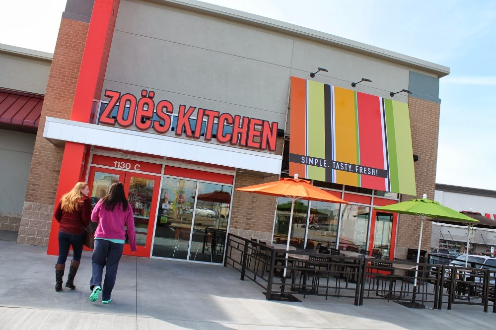 last week i grabbed my friend nina and we stopped into the new zoes kitchen location on woodruff road in greenville for a sampling of their menu offerings - Zoes Kitchen Locations